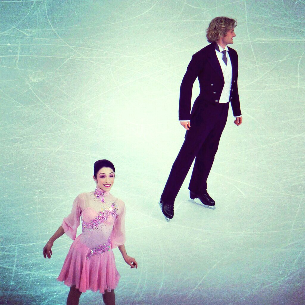 Charlie and Meryl skating their short program! They're incredibly nice.