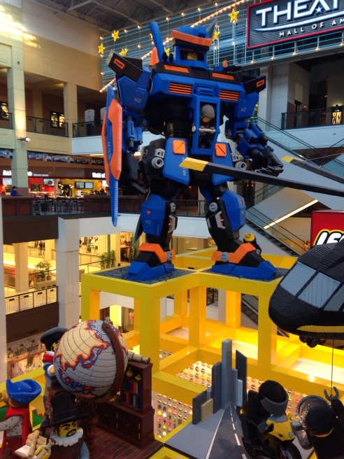Legos at Mall of America