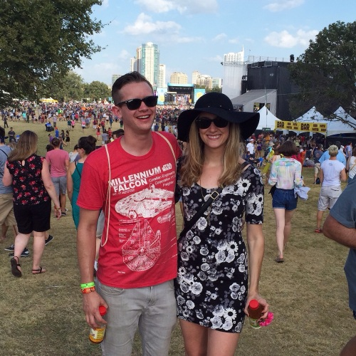 Josh and Lex at Austin City Limits