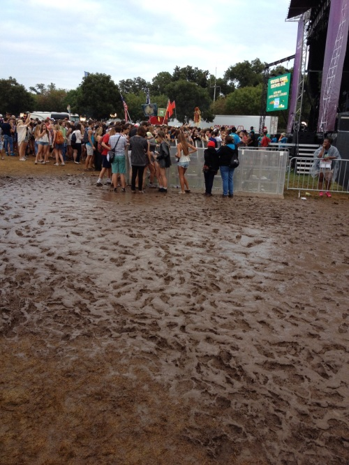 Mud Puddle at ACL